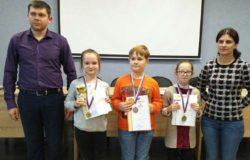 Юная шахматистка из Брянска выиграла турнир в Калуге