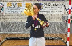 Иветта Акулова вызвана в сборную России по пляжному футболу