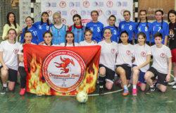 В Брянске прошел товарищеский матч по мини-футболу среди женских сборных БГУОР и БГУ