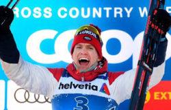Александр Большунов досрочно стал обладателем Кубка мира по лыжным гонкам