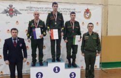 Брянец Максим Дубинин выиграл чемпионат Западного военного округа по армейскому гиревому рывку
