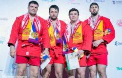 Брянский самбист Артем Осипенко стал девятикратным чемпионом России!