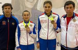 Елена Жиляева завоевала бронзовую медаль международного турнира в Латвии
