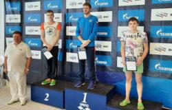 Брянец Алексей Артамонов стал вторым на кубке страны по плаванию