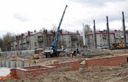 В Брянске возобновили строительство бассейна