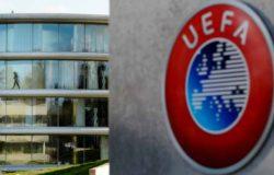УЕФА требует доиграть национальные чемпионаты