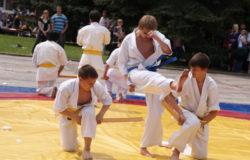 Ретро-фото. Спортивный праздник, посвящённый Дню Победы (9 мая 2010г.)