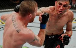 В лучшем поединке вечера UFC 249 Гэтжи расправился с Фергюсоном