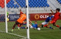 Брянское «Динамо» на выезде уступило «Енисею» в матче ФНЛ