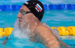 Брянский пловец Бородин бьет рекорды