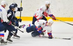 Брянские хоккеисты в Питере бились до последней секунды