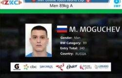 Брянский тяжелоатлет Могучев оправдал свою фамилию