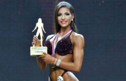 Выступление чемпионки России по бодибилдингу Милины Минасян (фитнес-бикини)