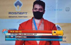 Брянец Артем Осипенко – 8-кратный чемпион мира по самбо