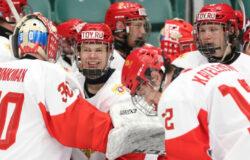 Сборная России по хоккею вышла в финал Юниорского Чемпионата мира