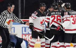 Сборная Канады вышла в финал ЧМ-2021 по хоккею