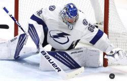 Голкипер Василевский стал рекордсменом НХЛ