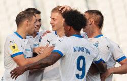 """Московское """"Динамо"""" пропустило два мяча в большинстве, но добыло победу в Уфе"""