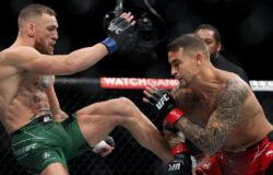 Макгрегор сломал ногу и проиграл бой Порье