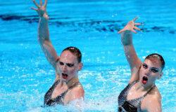 Российские синхронистки завоевали золото Олимпиады в парном разряде