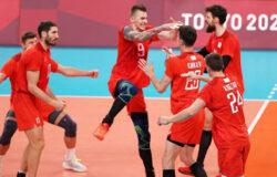 Мужская волейбольная сборная вышла в финал Олимпийских игр