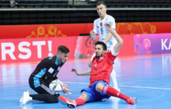 Сборная России по мини-футболу уступила аргентинцам в четвертьфинале ЧМ