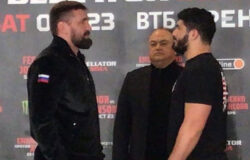 Виталий Минаков встретился лицом к лицу со своим соперником