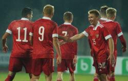 Молодёжная сборная России по футболу разгромила Литву